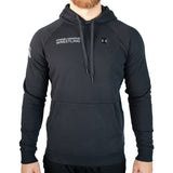 Under Armour Wrestling Men's Black Rival Fleece Hoodie