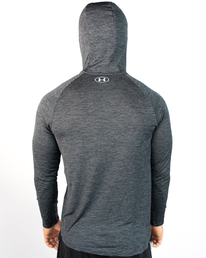 Under Armour Wrestling Men's Black Tech Hooded Shirt