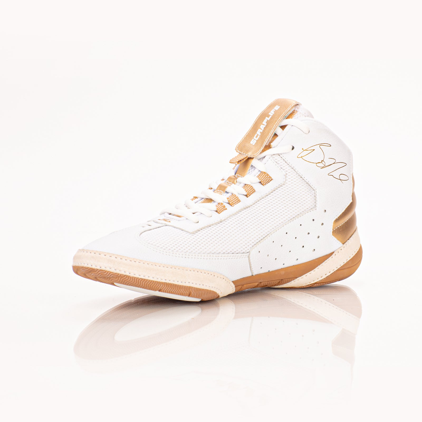 Ascend One - Bo Nickal Signature Model - White/Gold
