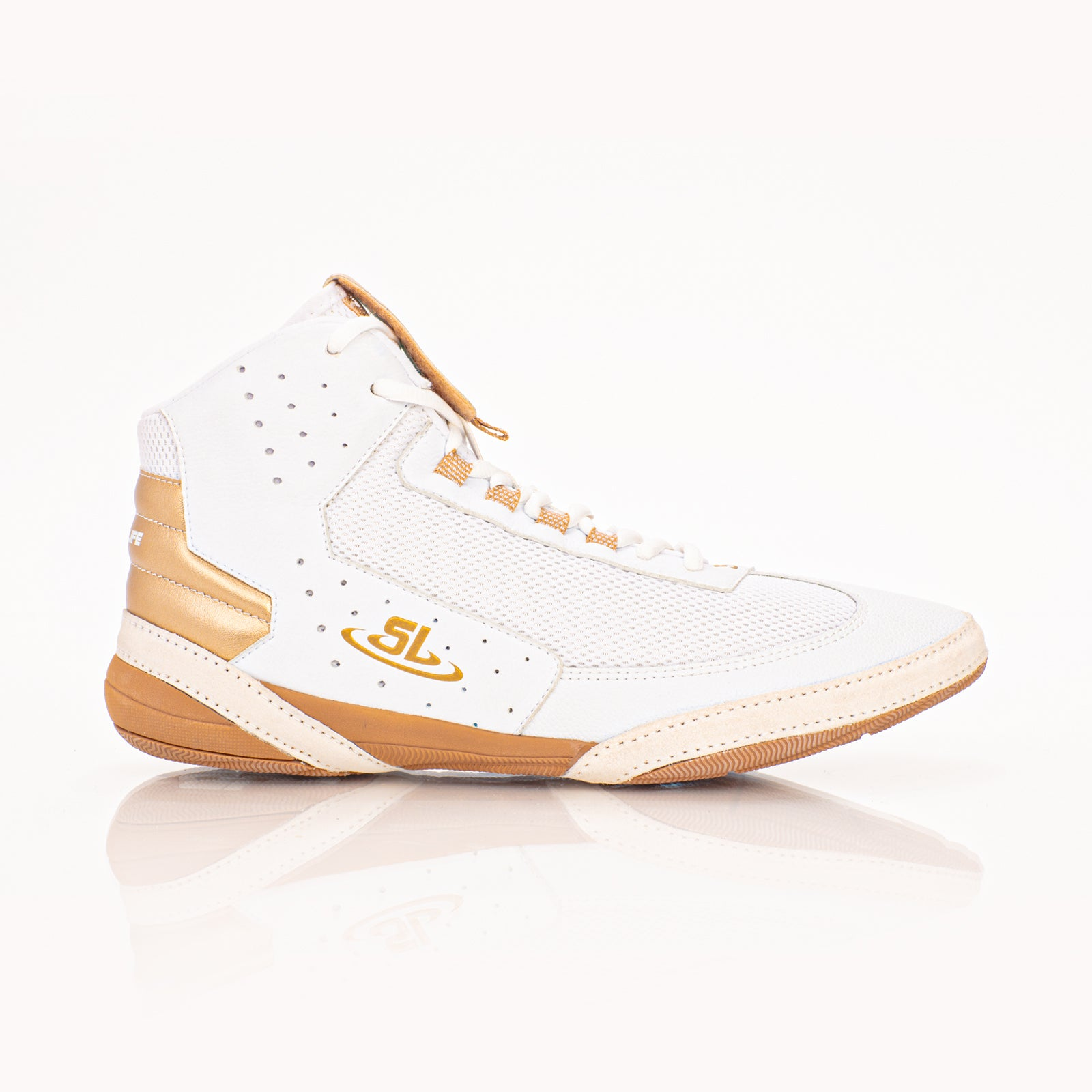 Ascend One - Youth Bo Nickal Signature Model - White/Gold