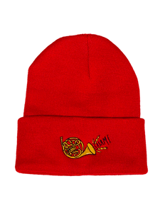 FRENCH HORN KNIT CAP