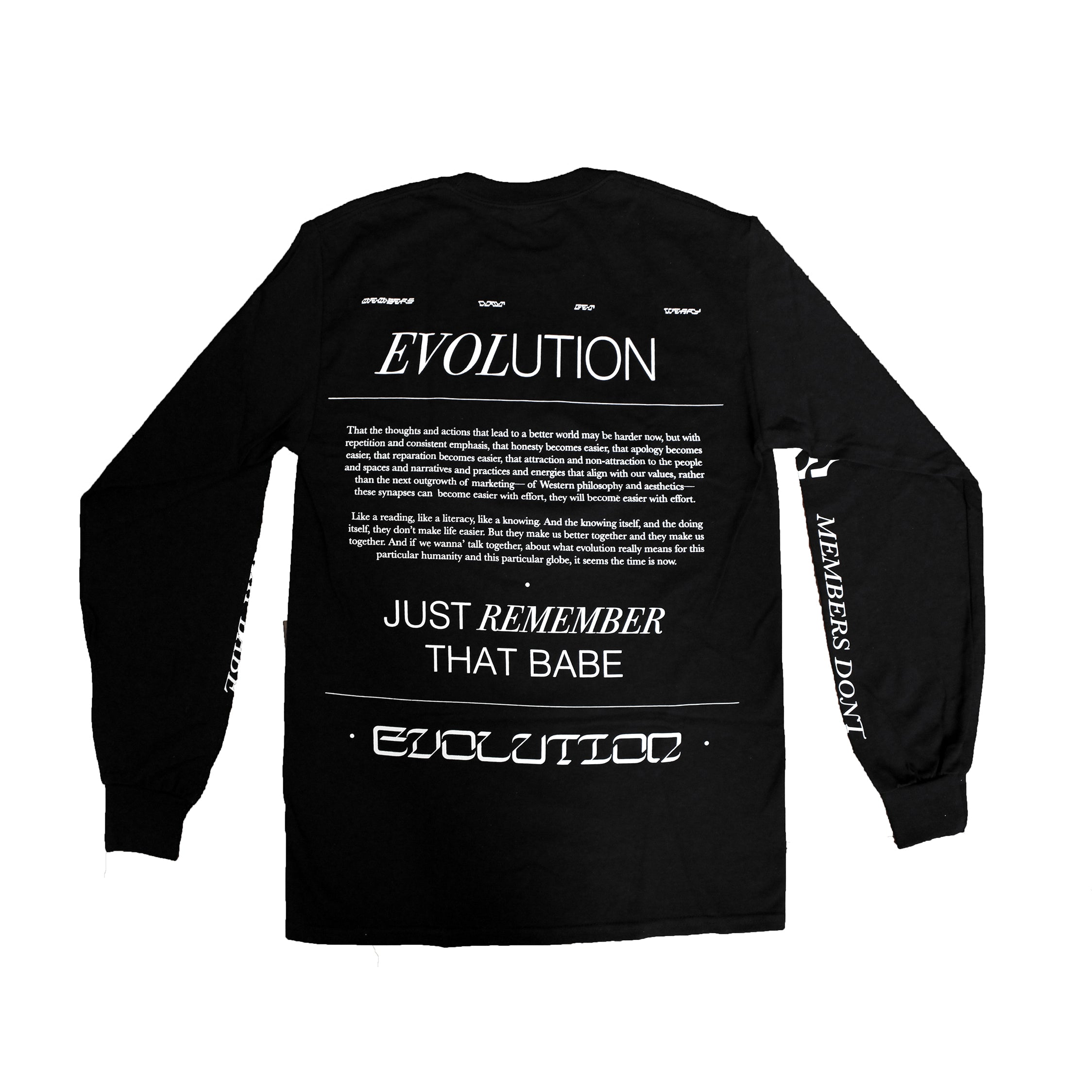 MANDY HARRIS EVOLUTION TEE
