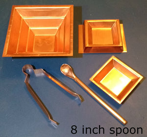 "5 pc set with 8"" spoon"