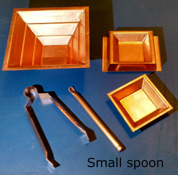 5 pc set with small spoon