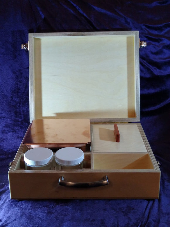 Travel Agnihotra kit with pyramid
