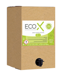 Bag-in-box de 10L de amaciador da roupa EcoX
