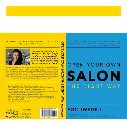 OPEN YOUR OWN SALON // ebook