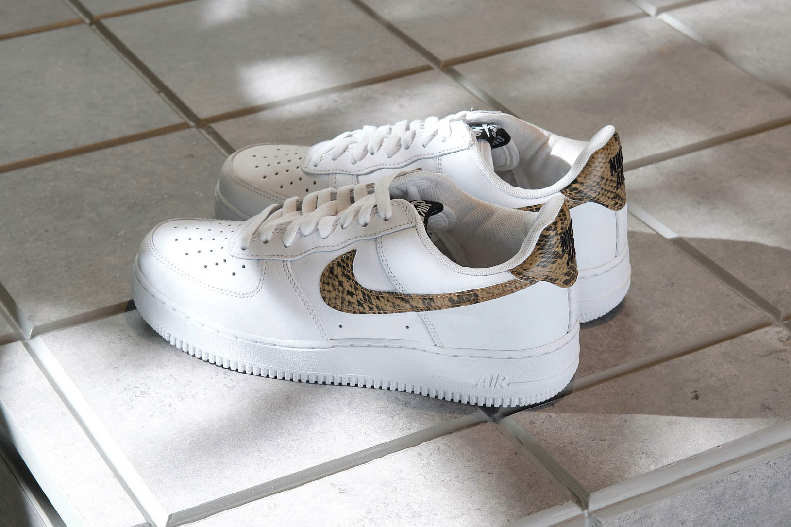 "Nike brings back the Air Force 1 ""Ivory Snake"""