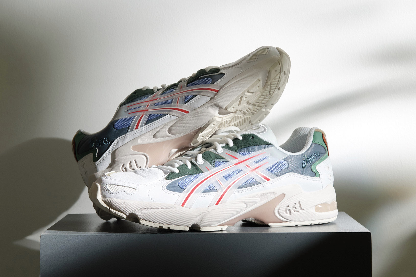 ASICS and HBX team up for a 90's take on the GEL-KAYANO 5 OG