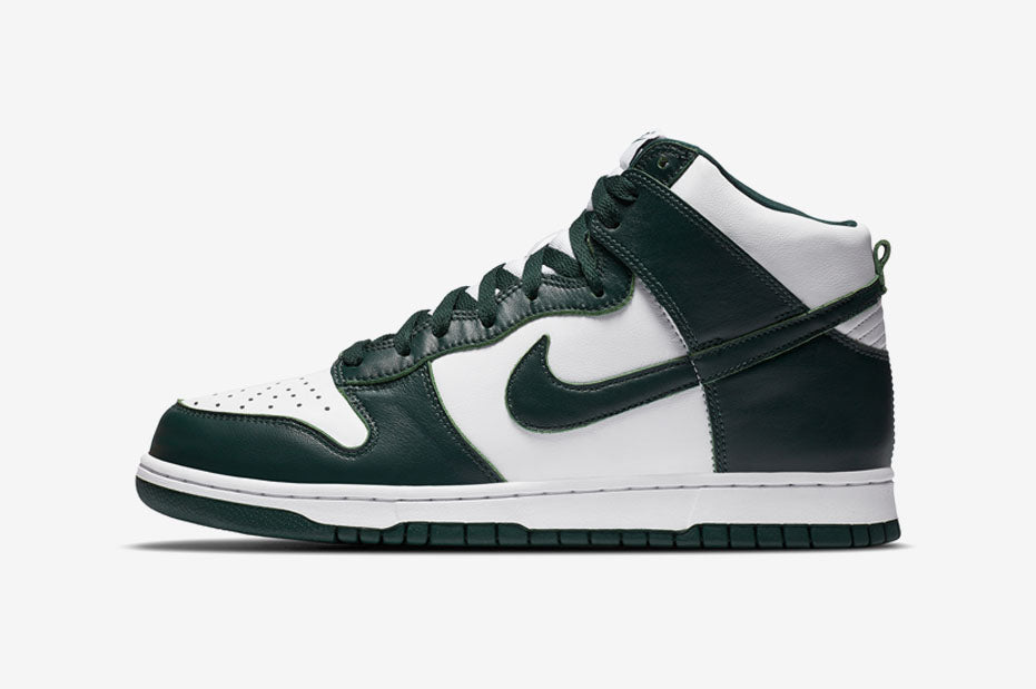 Nike Dunk High 'Spartan Green' | Release Mechanics