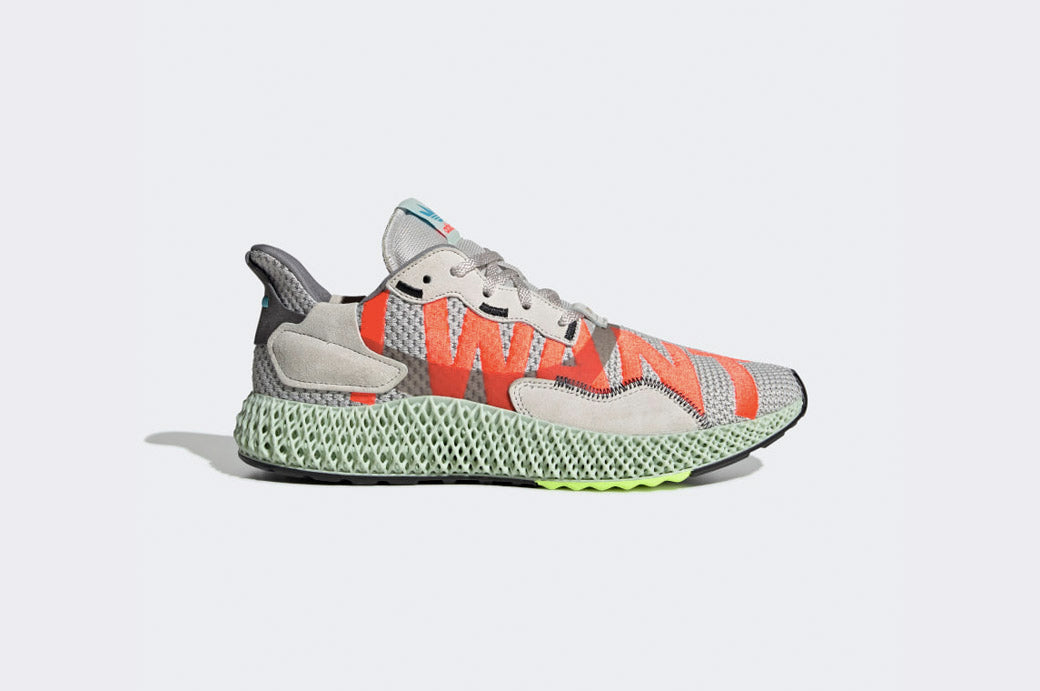 "adidas Consortium ZX 4000 4D ""I WANT, I CAN"" 