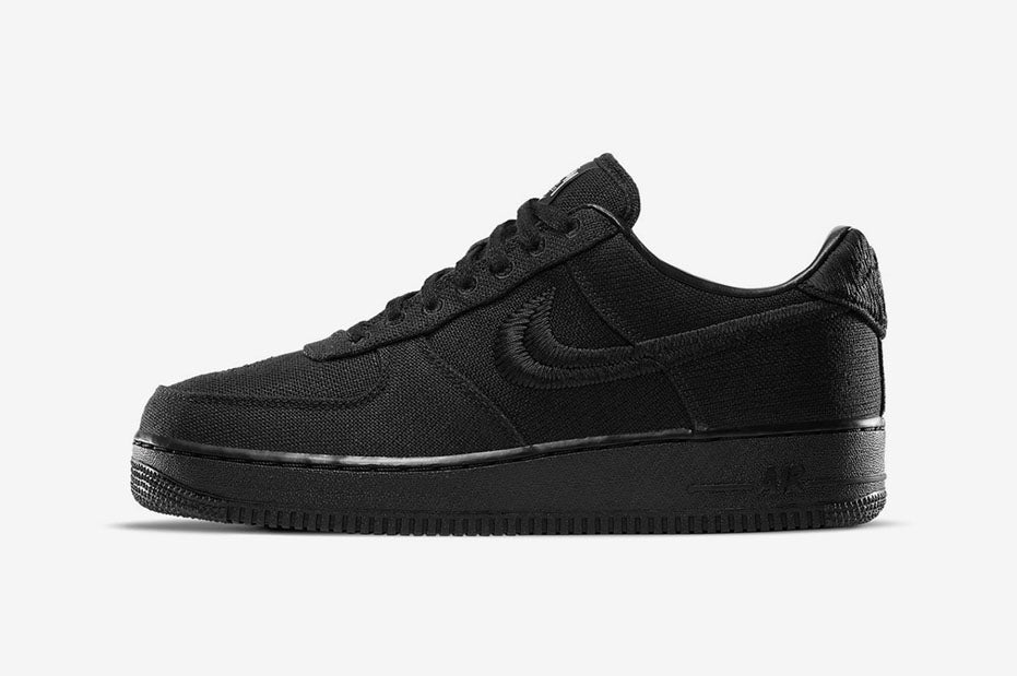 Nike x Stussy Air Force 1 'Black' | Release Mechanics