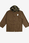 A Bathing Ape Apparel 1st Camo Military Hoodie Shirt