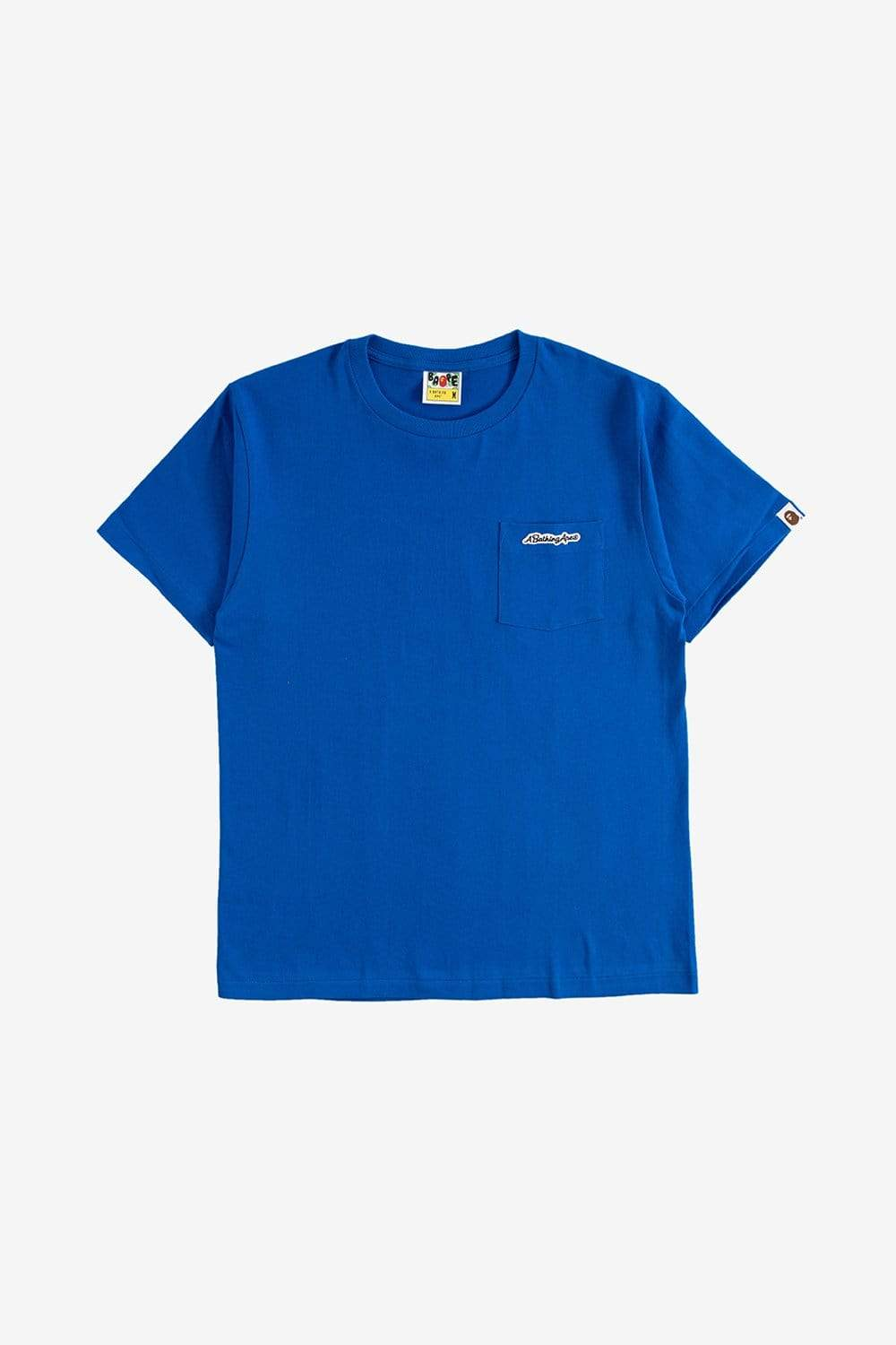 A Bathing Ape Apparel A Bathing Ape Patch Pocket Tee Blue