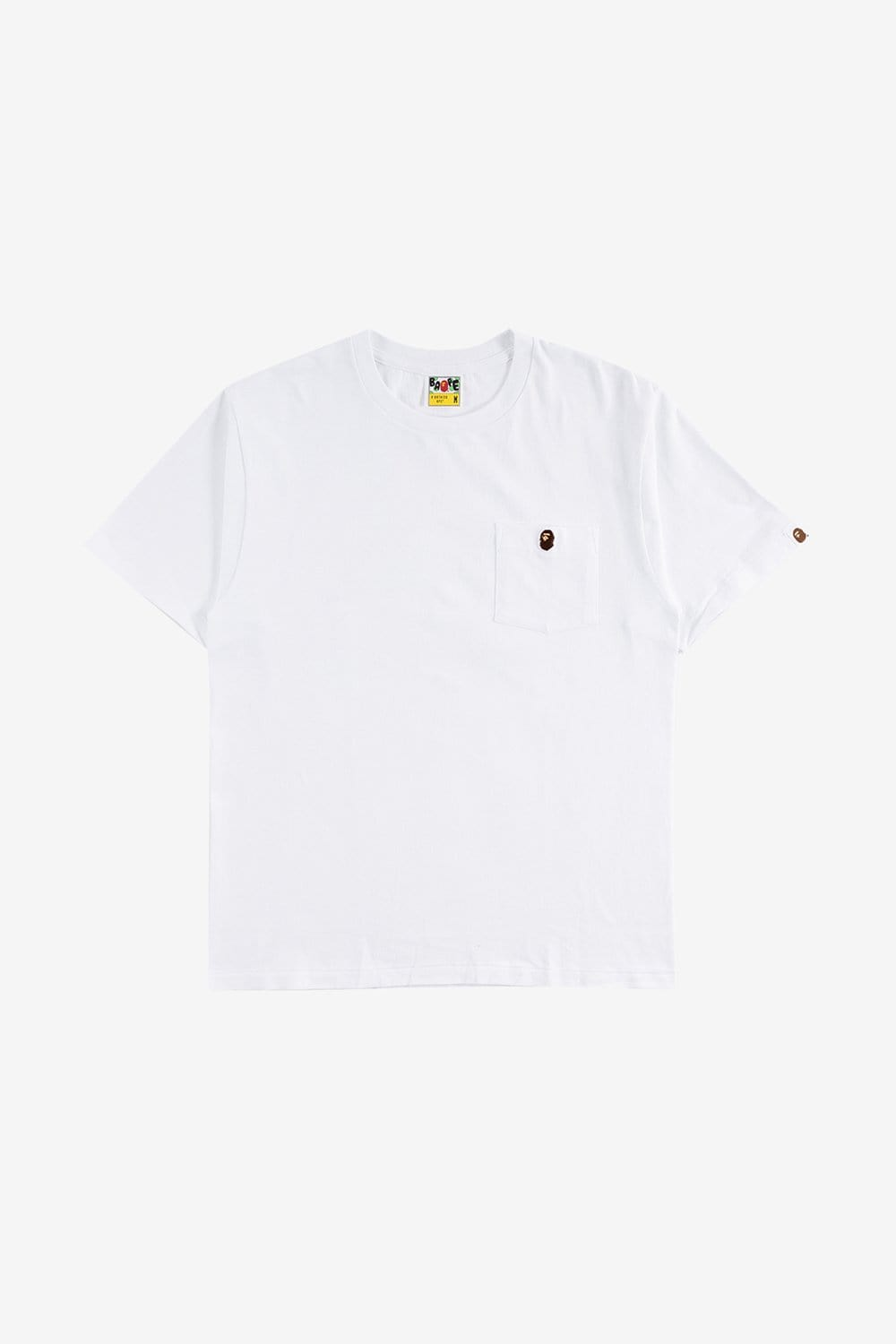 A Bathing Ape Apparel Ape Head One Point Pocket Tee