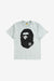 A Bathing Ape Apparel Bicolor Big Ape Head Tee