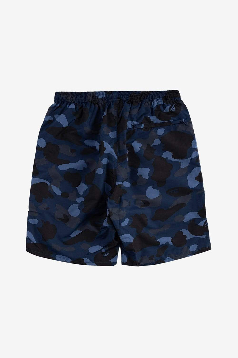 A Bathing Ape Apparel Camo Beach Pants Navy