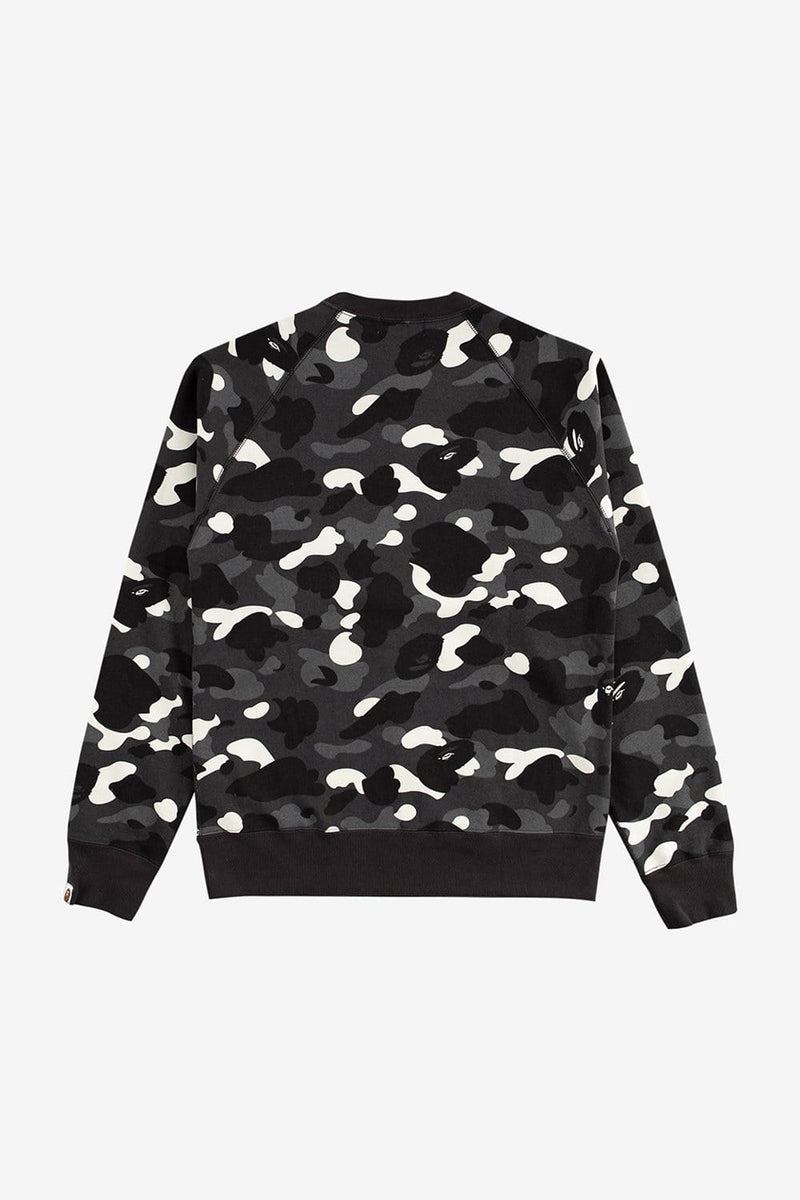 A Bathing Ape Apparel City Camo Crewneck
