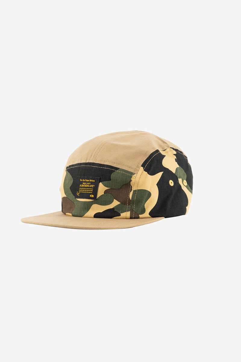 A Bathing Ape Apparel OS 1st Camo Jet Cap Yellow