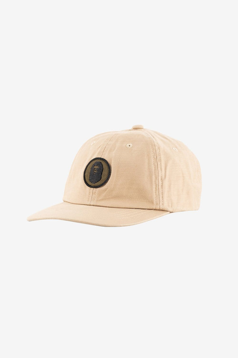 A Bathing Ape Apparel OS Military Panel Cap Beige