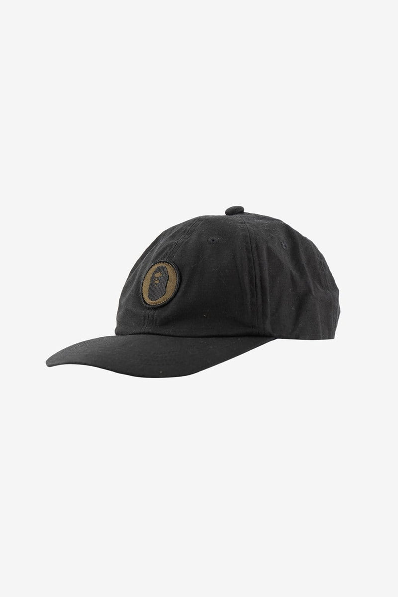A Bathing Ape Apparel OS Military Panel Cap Black