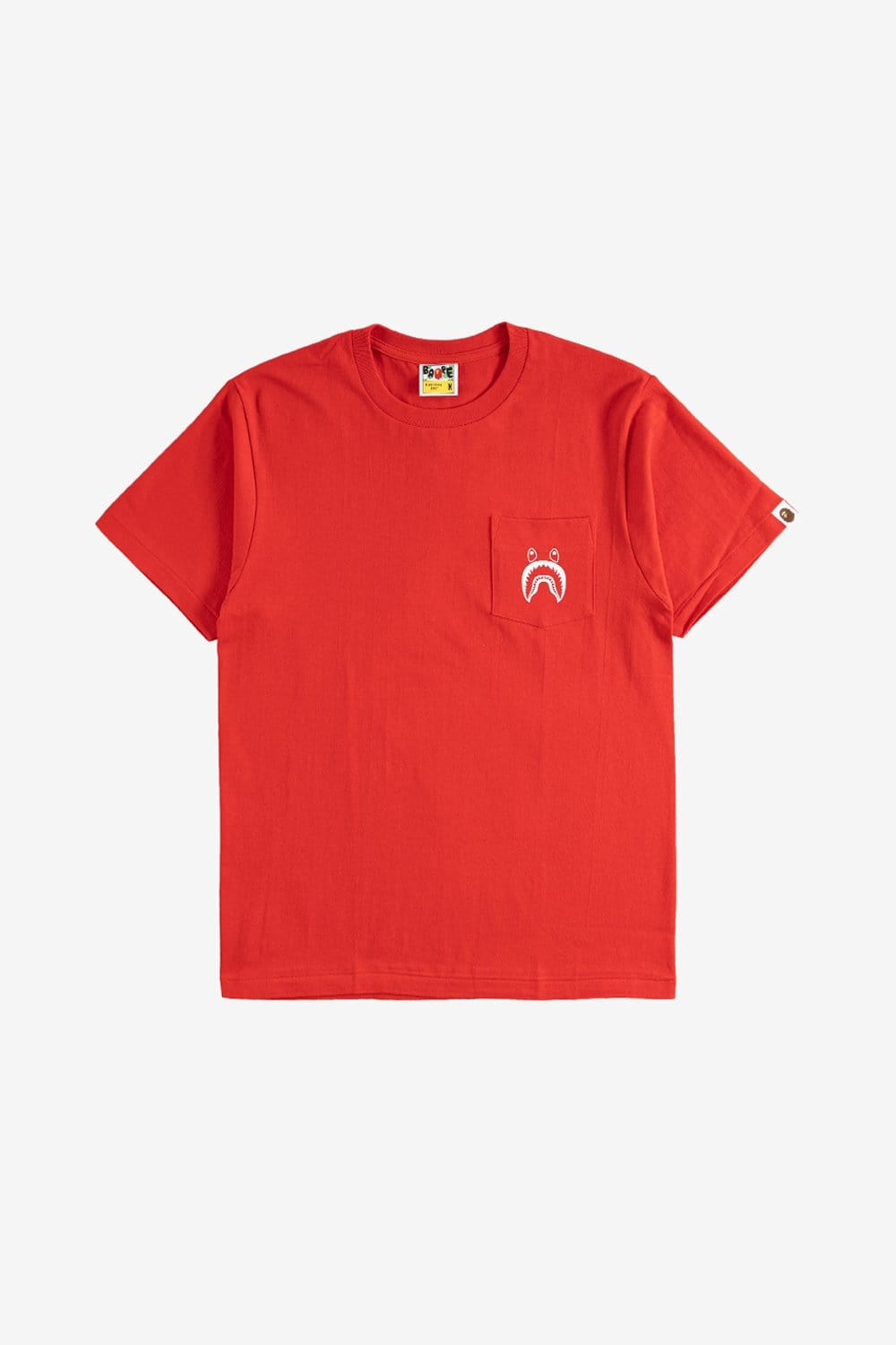A Bathing Ape Apparel Shark Pocket Tee