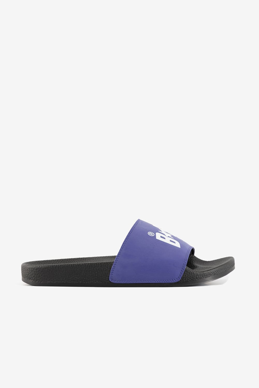A Bathing Ape Footwear Bapesta Slide Sandals Purple