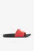 A Bathing Ape Footwear Bapesta Slide Sandals Red