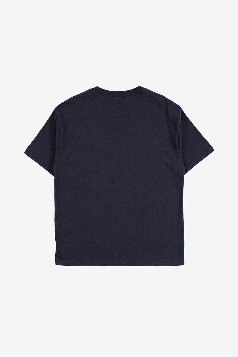 A.P.C. Apparel Kyle Logo T-shirt Dark Navy