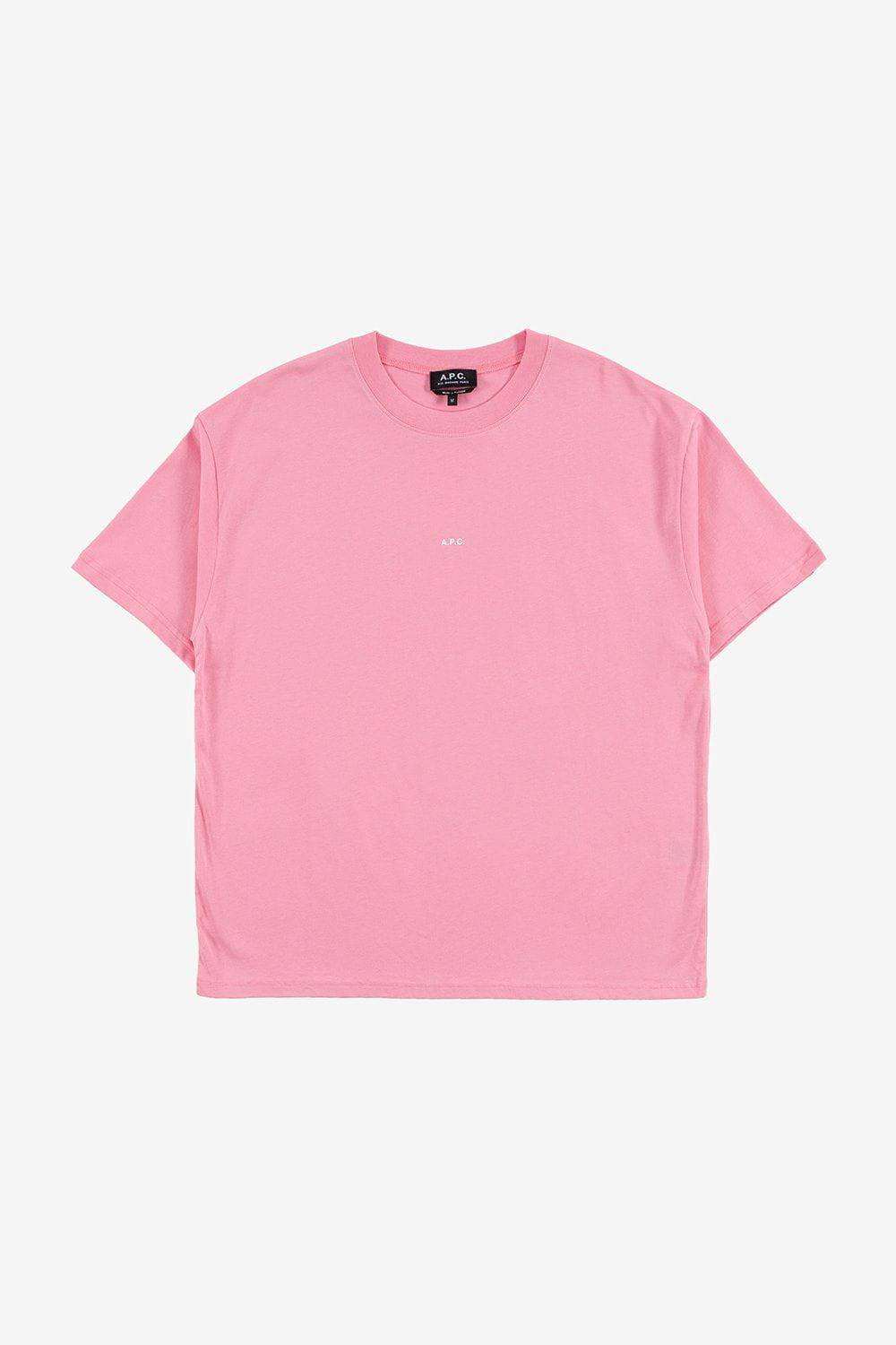 A.P.C. Apparel Kyle Logo T-shirt Rose