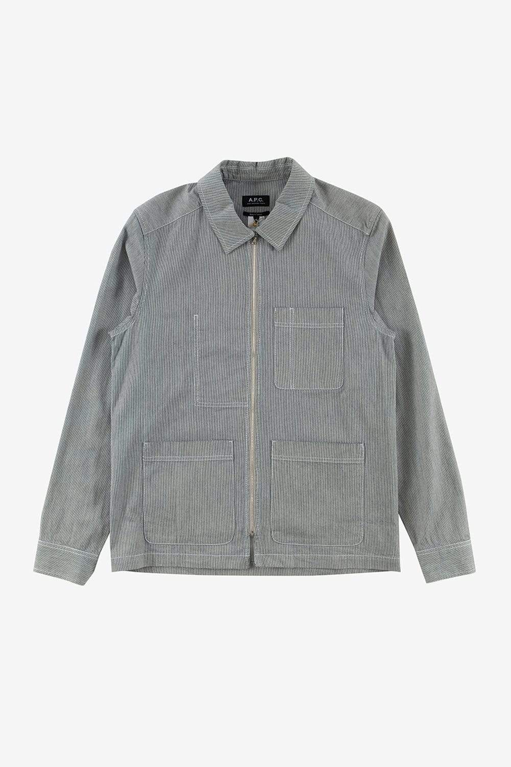 A.P.C. Apparel S Zip Jacket