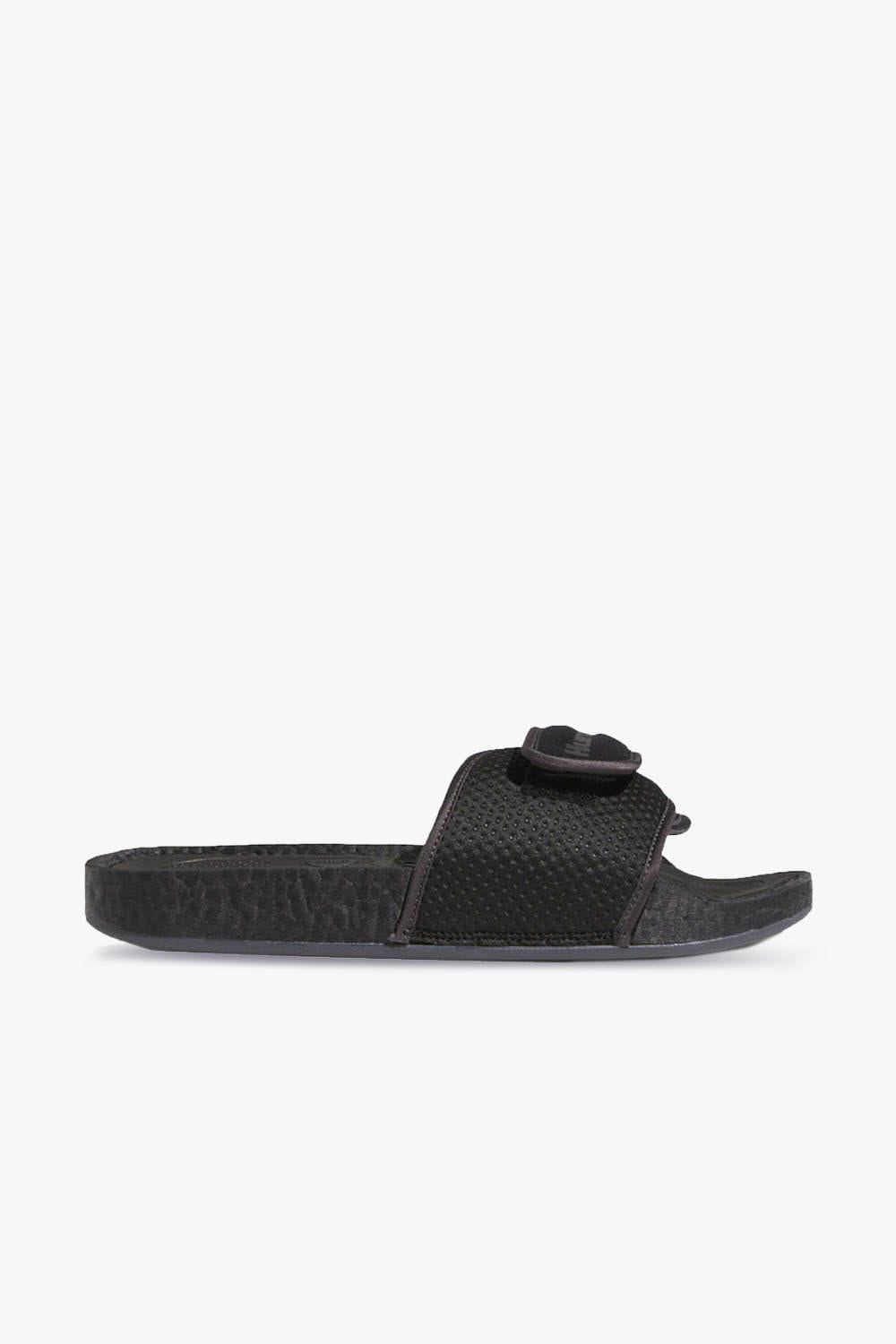 adidas Footwear adidas x Pharrell Williams Chancletas Hu Slides Black