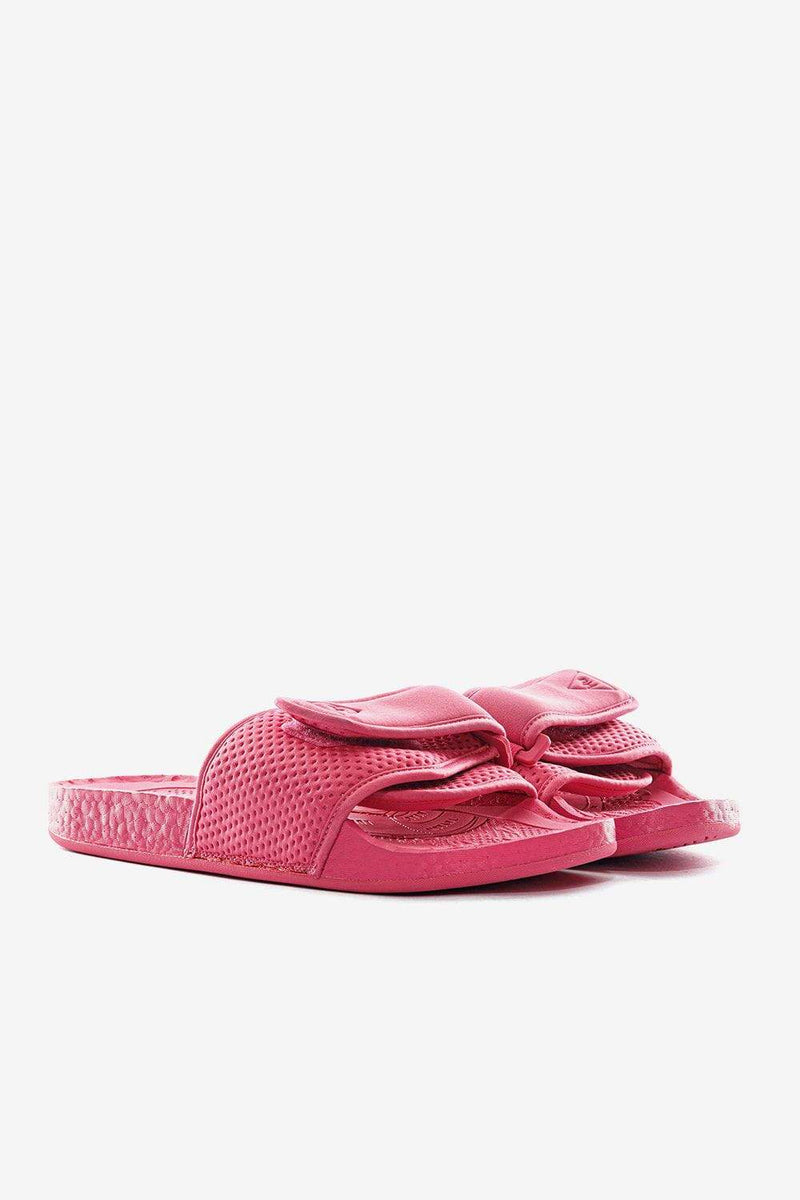 adidas Footwear adidas x Pharrell Williams Chancletas Hu Slides Semi Solar Pink