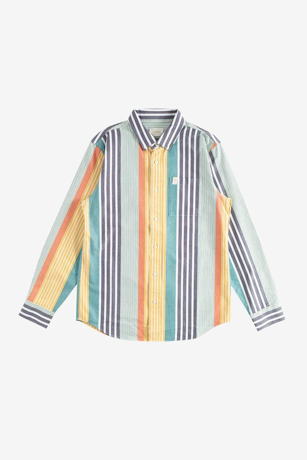 Aime Leon Dore Apparel Striped Oxford Shirt