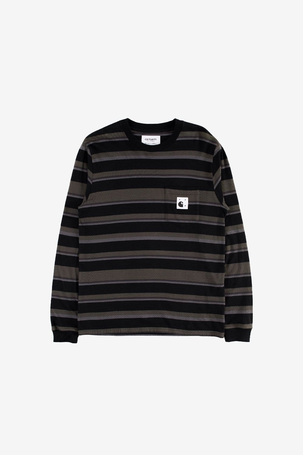 Carhartt WIP Apparel Carhartt WIP x Pop Trading Company Long Sleeve Pocket Shirt