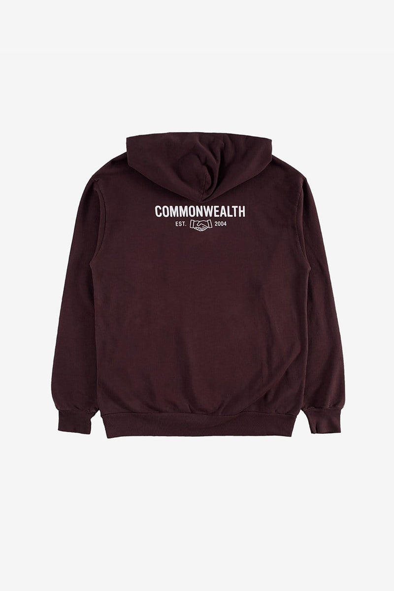 Commonwealth Apparel Core Logo Lightweight Hooded Fleece