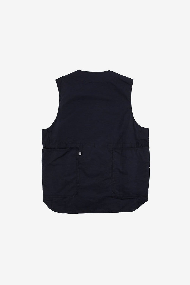 Commonwealth Apparel Poplin Vest Black