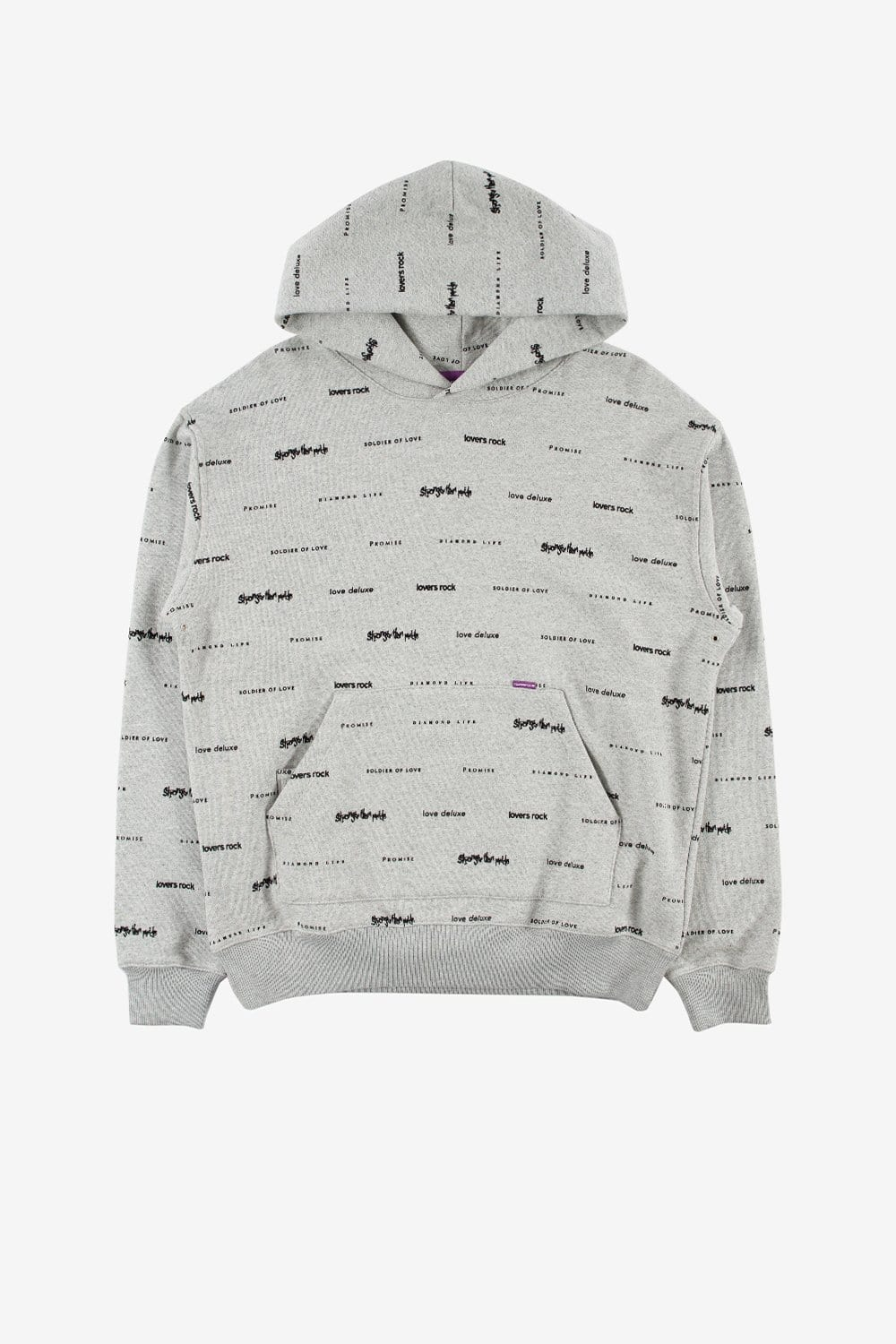 Commonwealth Apparel Sade Hoodie Heather Grey