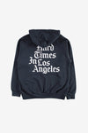 Freshjive Apparel Hard Times in LA Hoodie