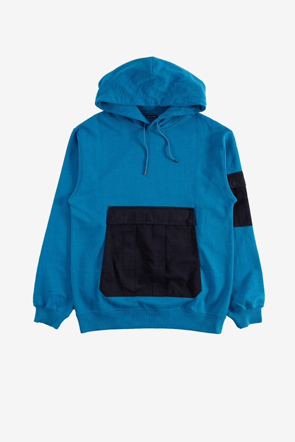 maharishi Apparel Pocket Detail Popover Hoody