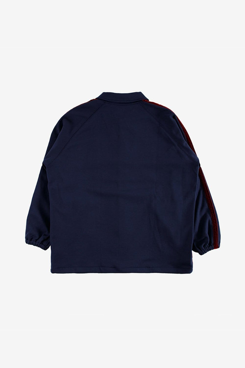 Needles Apparel Side Line Coach Jacket Poly Smooth