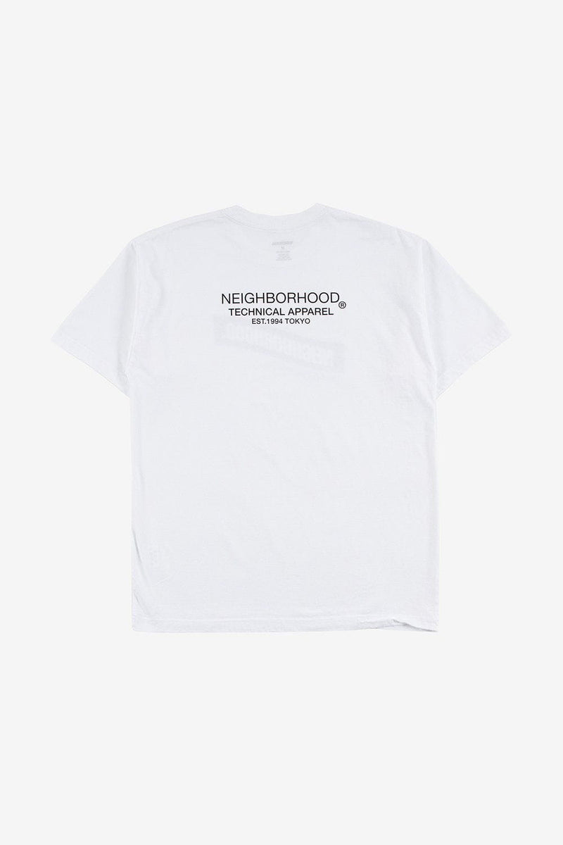 Neighborhood Apparel Distortion-2 Tee White