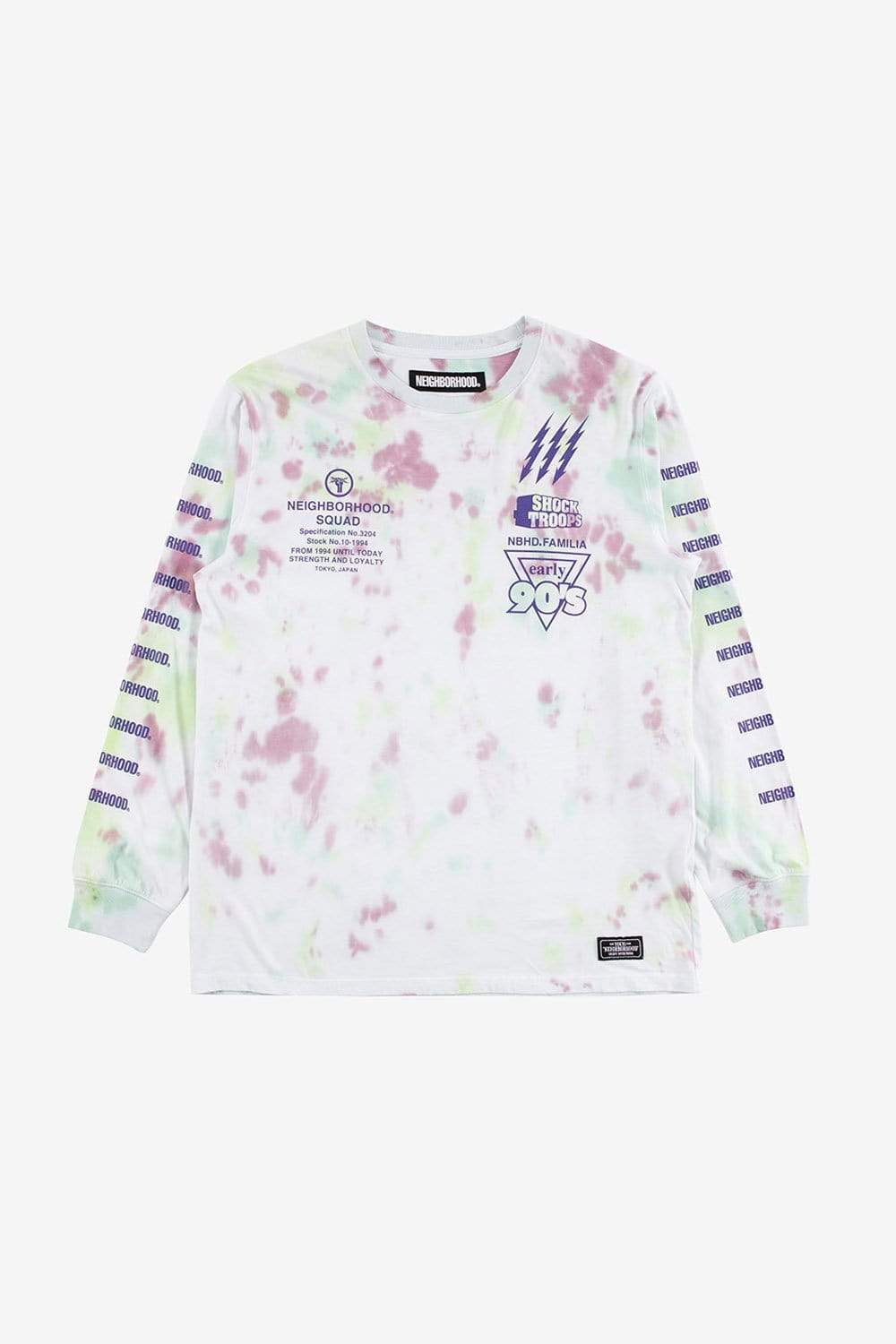 Neighborhood Apparel Dye Long Sleeve Tee