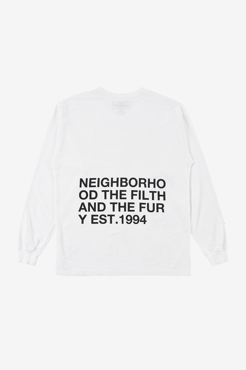 Neighborhood Apparel ID Long Sleeve Tee