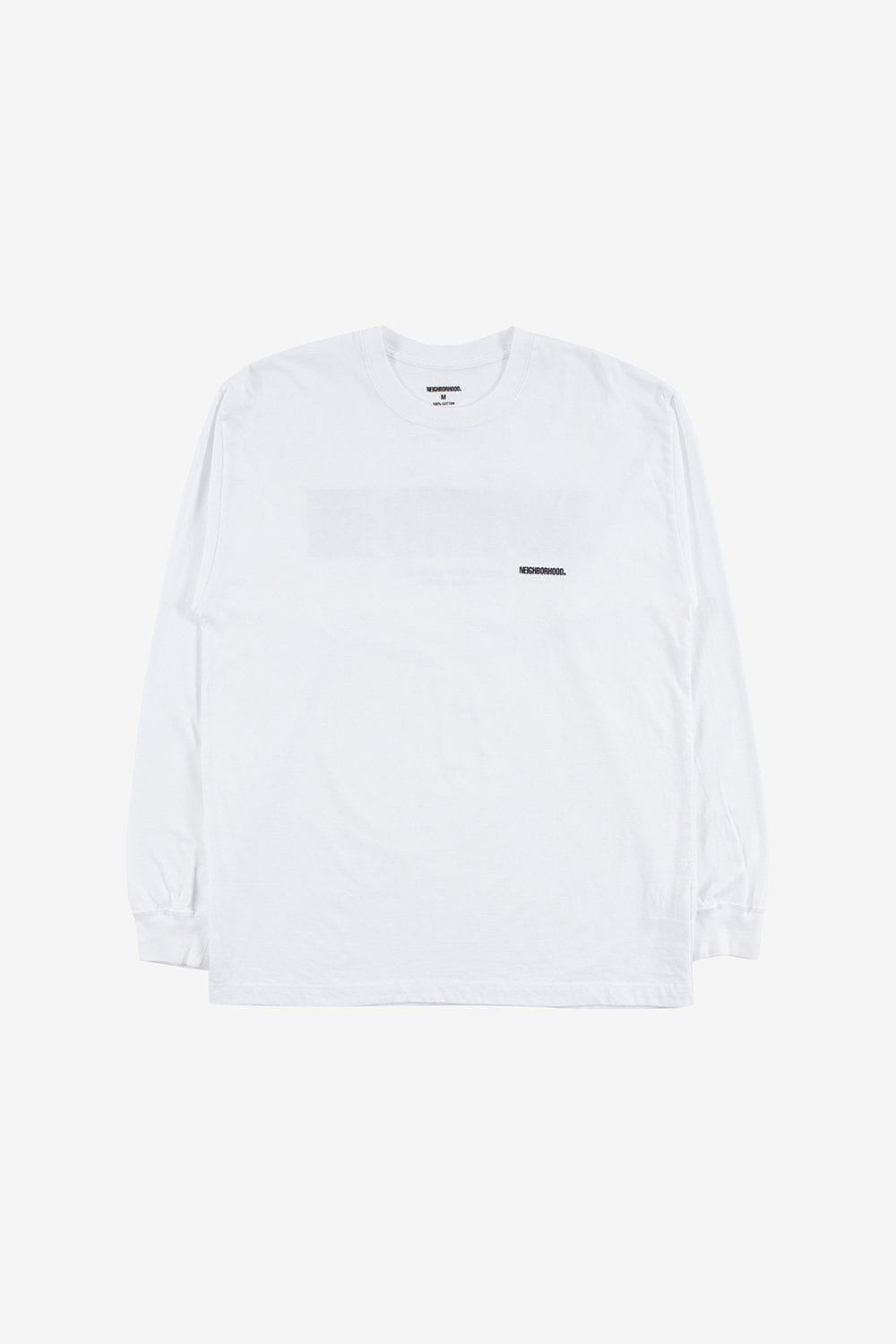 Neighborhood Apparel In My Eyes Long Sleeve Tee White