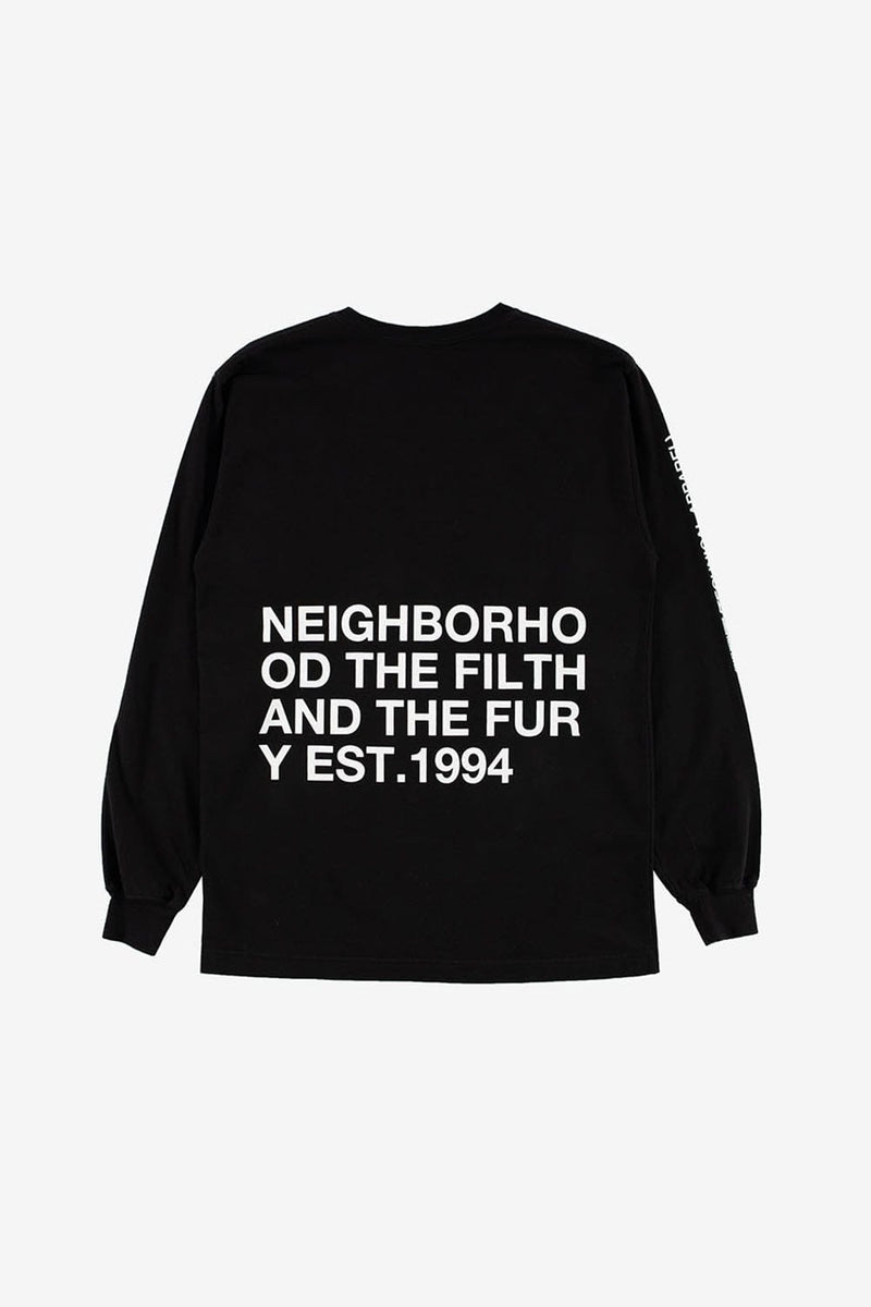 Neighborhood Apparel XS ID Long Sleeve Tee