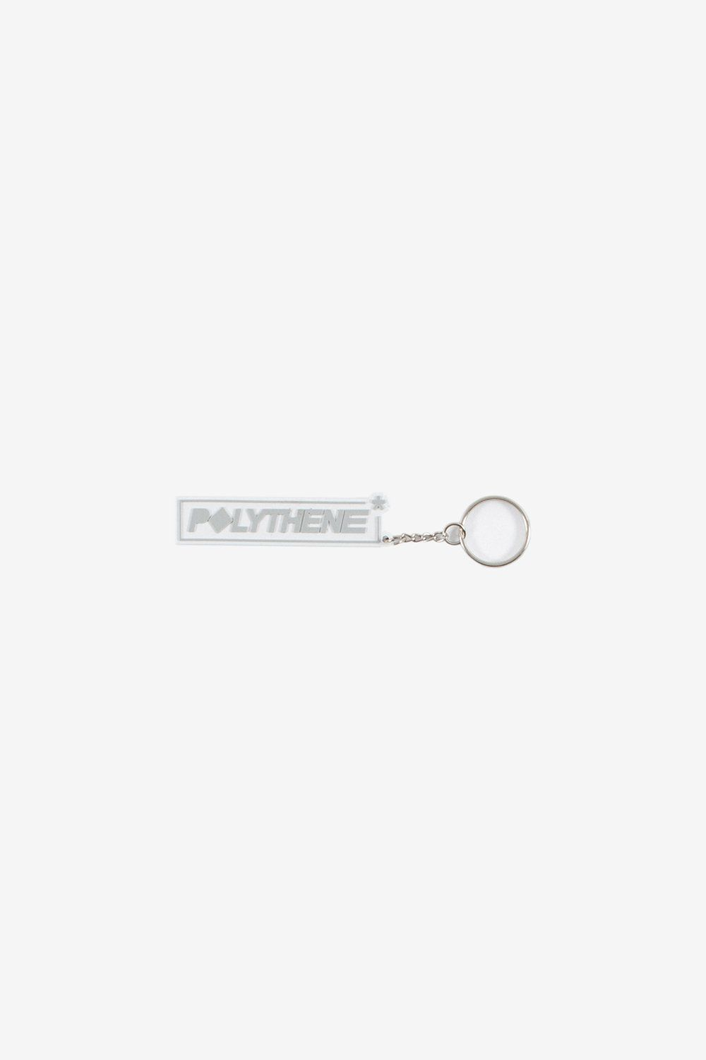 Polythene Optics Accessories OS Rubber Keyring Grey