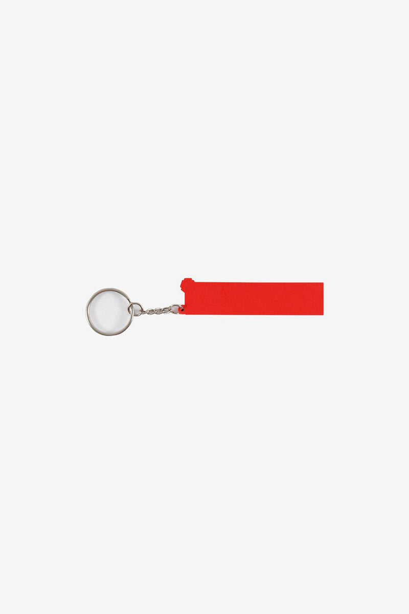 Polythene Optics Accessories OS Rubber Keyring Red