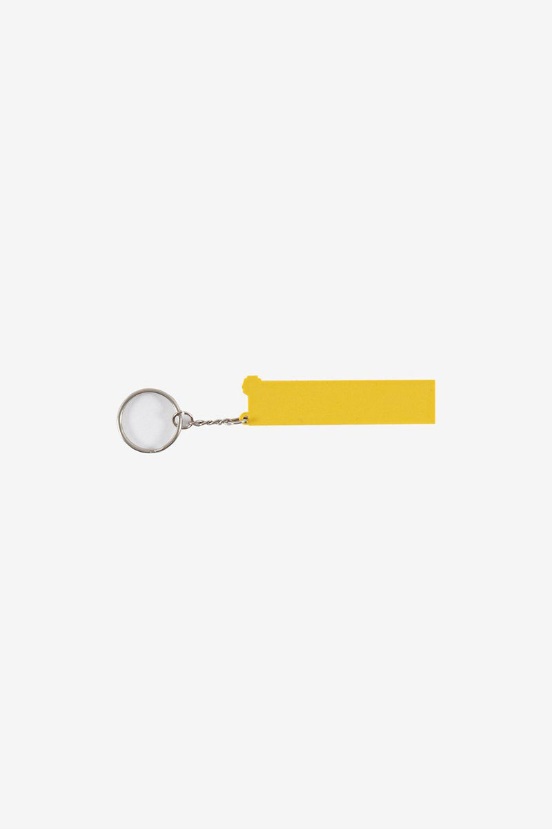 Polythene Optics Accessories OS Rubber Keyring Yellow