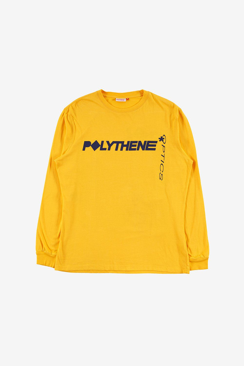 Polythene Optics Apparel Graphical Nails Long Sleeve T-Shirt Yellow